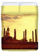 Sukothai Temple Duvet Cover