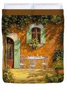 Sul Patio Duvet Cover by Guido Borelli