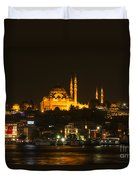 Suleymaniye At Night Duvet Cover