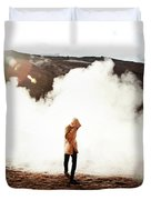 Sulfur Clouds Duvet Cover