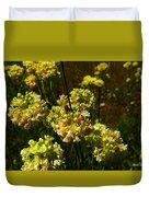 Sulfur Flower Duvet Cover