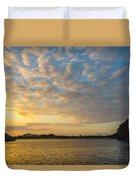 Sullivan Bay Sunrise Duvet Cover