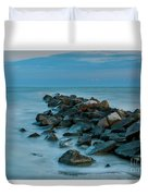 Sullivan's Island Rock Jetty Duvet Cover