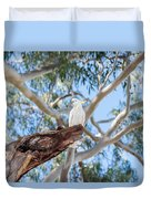 Sulphur-crested Cockatoo Duvet Cover