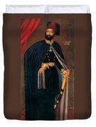 Sultan Mahmud II Duvet Cover