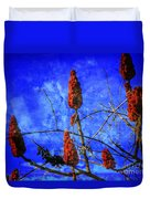 Sumac Tree Duvet Cover