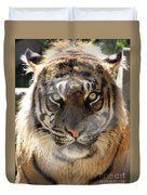 Sumatran Tiger-1440 Duvet Cover
