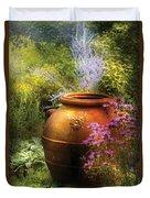 Summer - Landscape - The Urn Duvet Cover