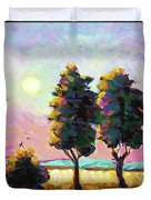 Summer Afternoon In The Fields Duvet Cover