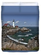 Summer Afternoon, Portland Headlight Duvet Cover