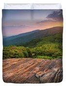 Summer Along The Appalachian Trail Duvet Cover