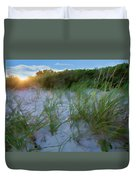 Summer At The Cape IIi Duvet Cover
