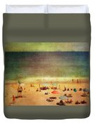 Summer At The Cape Iv Duvet Cover