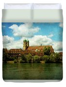 Summer. At The Resort In Bad Saeckingen. Germany. Duvet Cover