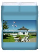 Summer At The Shore Duvet Cover