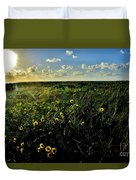 Summer Beach Daisy 2 Duvet Cover