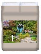 Summer Beach House Duvet Cover