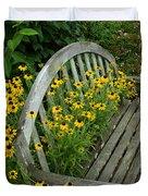 Summer Bench Duvet Cover