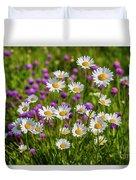 Summer Blooms Duvet Cover