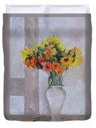 Summer Bouquet Duvet Cover