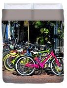 Summer Bright Pedals Duvet Cover