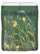 Summer Buttercups Duvet Cover