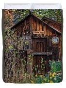 Summer Cabin Duvet Cover