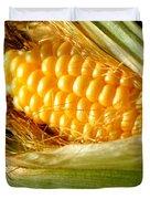 Summer Corn Xl Farm Nature Harvest Duvet Cover