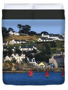 Summer Cove, Kinsale, Co Cork, Ireland Duvet Cover