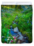 Summer Creek Duvet Cover