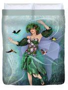 Summer Dance Duvet Cover