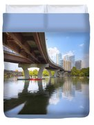 Summer Day At Lady Bird Lake In Austin Texas 1 Duvet Cover