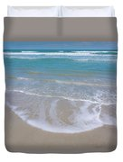 Summer Day At The Beach Duvet Cover