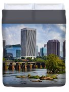 Summer Day In Rva Duvet Cover