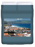 Summer Day In Sao Miguel Duvet Cover