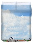 Summer Day In Tallinn Duvet Cover