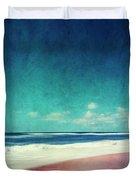 Summer Days IIi - Abstract Beach Scene Duvet Cover