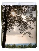 Summer Days On The Horizon Duvet Cover