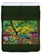 Summer Ends And Autumn Begins Duvet Cover