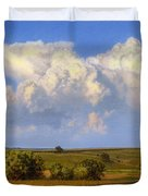 Summer Evening Formations Duvet Cover