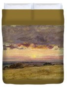 Summer Evening With Storm Clouds Duvet Cover