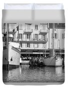 Summer Feelings Saint - Tropez Duvet Cover