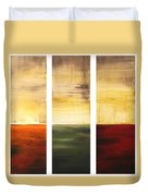 Summer Fields By Madart Duvet Cover