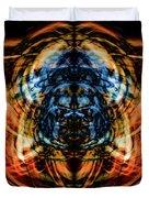 10643 Summer Fire Mask 43 - Logi Duvet Cover