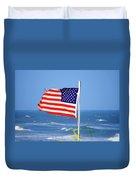 Summer Flag Duvet Cover