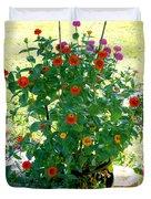 Summer Flowers 10 Duvet Cover