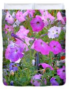 Summer Flowers 8 Duvet Cover