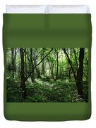 Summer Forest On A Sunny Day Duvet Cover
