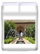 Summer Fountain Duvet Cover