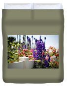 Summer Garden 1 Duvet Cover